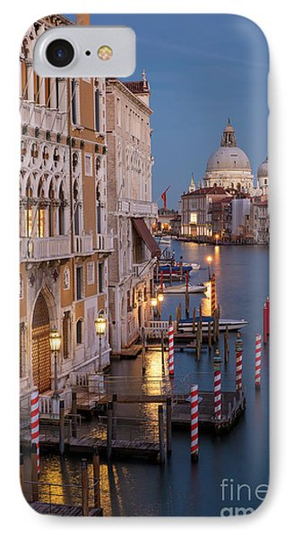 IPhone Case featuring the photograph Grand Canal Twilight II by Brian Jannsen