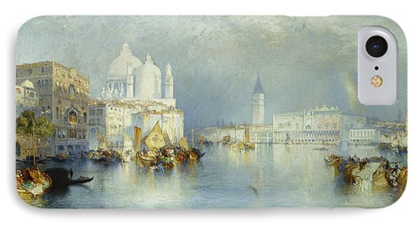 Grand Canal Venice IPhone Case by Thomas Moran