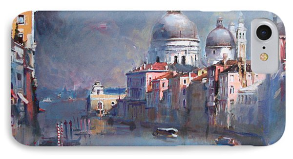 Grand Canal Venice IPhone Case by Ylli Haruni