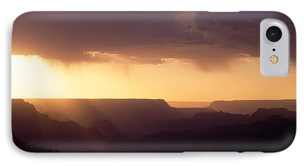 Grand Canyon At Sunset, Grand Canyon IPhone Case by Panoramic Images