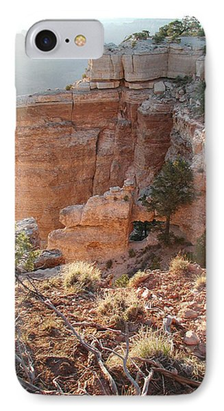 IPhone Case featuring the photograph Grand Canyon Bluff by Nancy Taylor