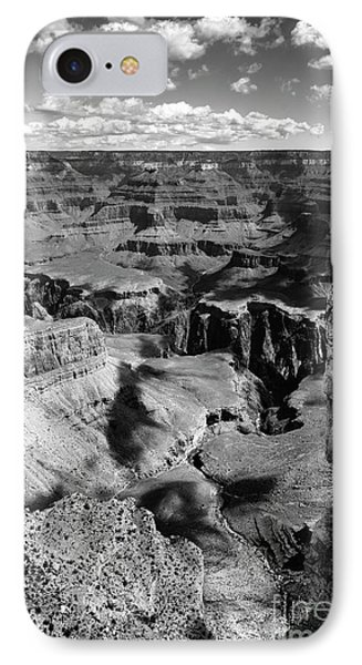 Grand Canyon Bw IPhone Case by RicardMN Photography