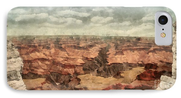 Grand Canyon IPhone Case by Edward Fielding
