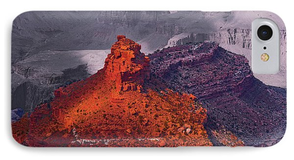 Grand Canyon In Red And Blue Phone Case by Viktor Savchenko