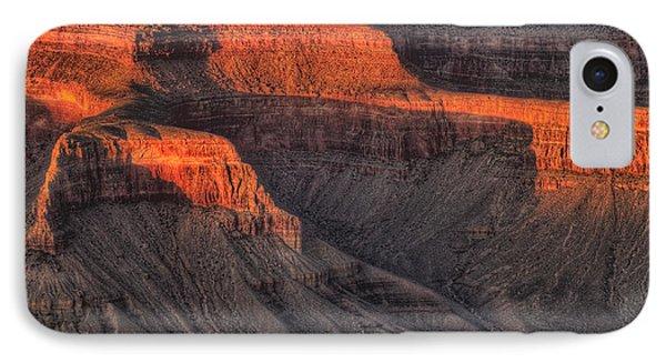 Grand Canyon Light Phone Case by Steve Gadomski