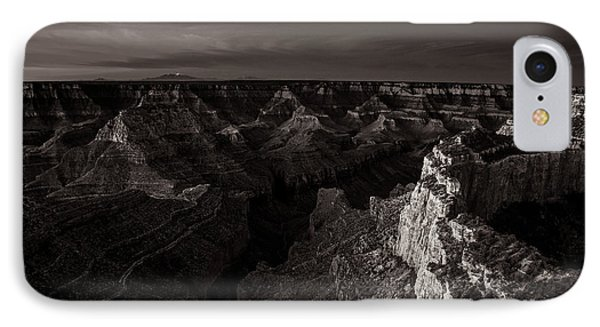 Grand Canyon Monochrome IPhone Case by Scott McGuire