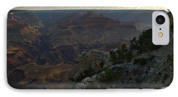 IPhone Case featuring the photograph Grand Canyon Monring by Stephen  Vecchiotti