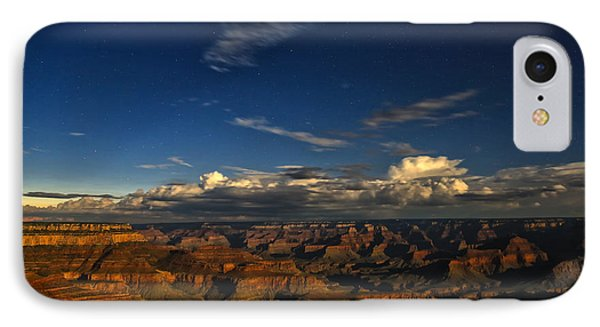 Grand Canyon Moonlight IPhone Case by James Menzies
