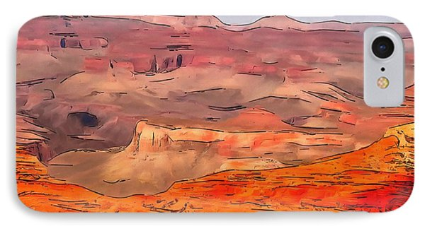Grand Canyon National Park Summer IPhone Case by Dan Sproul