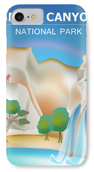 Grand Canyon National Park Vertical Scene IPhone Case