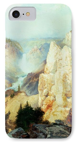 Grand Canyon Of The Yellowstone Park Phone Case by Thomas Moran