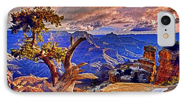 Grand Canyon Pine Phone Case by Dennis Cox WorldViews