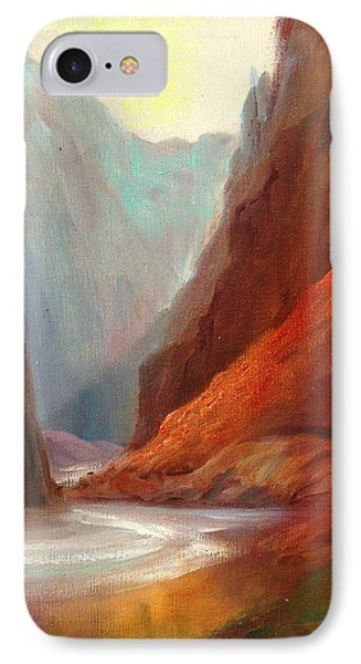 Grand Canyon Rafting Phone Case by Sally Seago