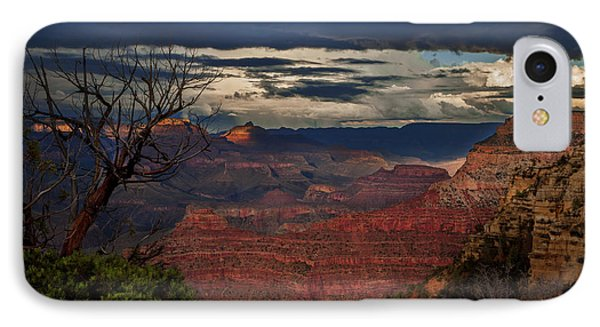Grand Canyon Storm Clouds IPhone Case by John A Rodriguez