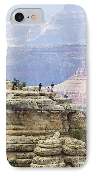 IPhone Case featuring the photograph Grand Canyon Vista by Chris Dutton