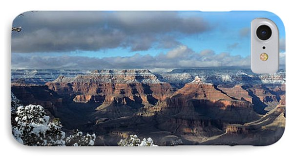 Grand Canyon Winter Vista IPhone Case