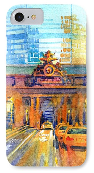 Grand Central Before Six, Driver IPhone Case by Virgil Carter