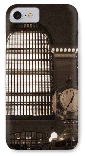 Grand Central Station Phone Case by Henri Irizarri
