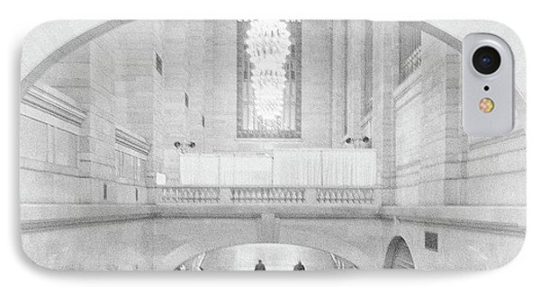 IPhone Case featuring the photograph Grand Central Station by Lora Lee Chapman