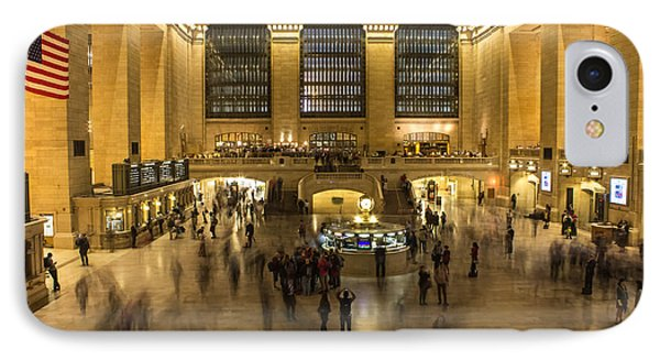 Grand Central Station IPhone Case by Martin Newman