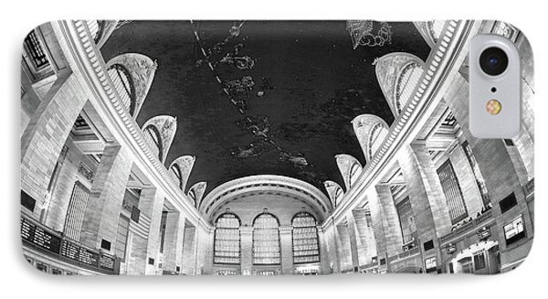 IPhone Case featuring the photograph Grand Central Station by Mitch Cat