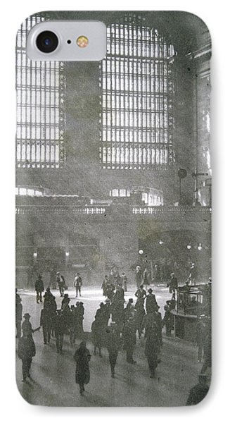Grand Central Station, New York City, 1925 IPhone Case by American School