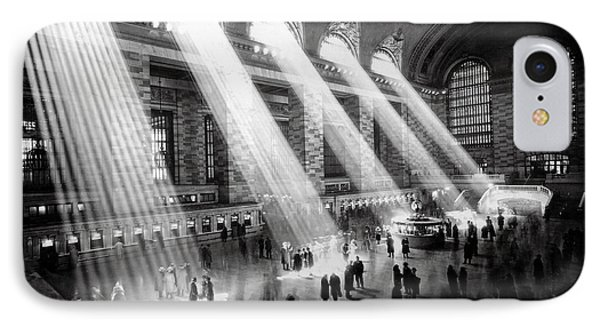 Grand Central Station New York City IPhone Case by Jon Neidert