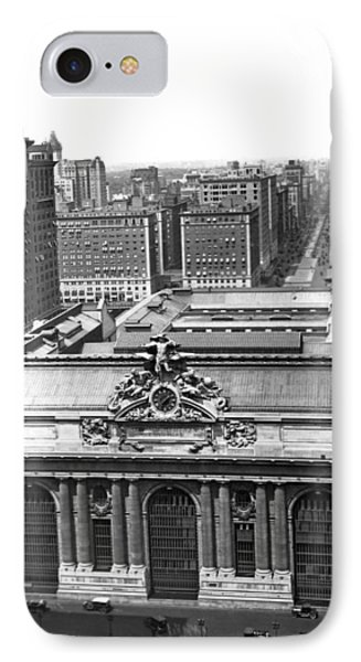 Grand Central Station IPhone Case by Underwood & Underwood