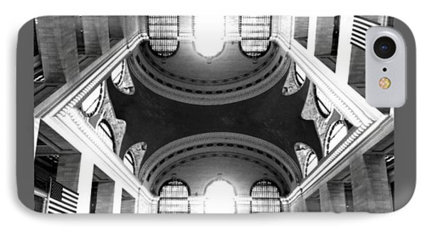 IPhone Case featuring the photograph Grand Central Terminal Mirrored by Diana Angstadt