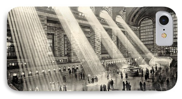 Grand Central Terminal, New York In The Thirties IPhone Case by American School