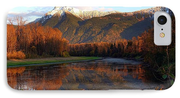Mount Cheam, British Columbia IPhone Case by Heather Vopni