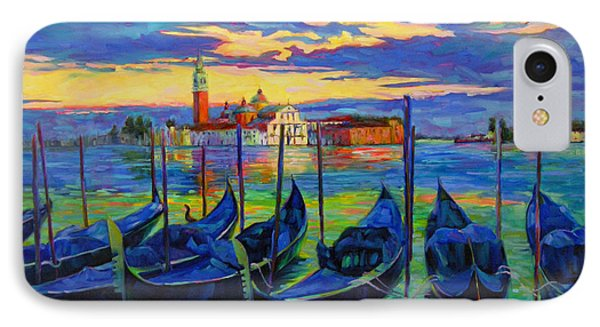 Grand Finale In Venice IPhone Case