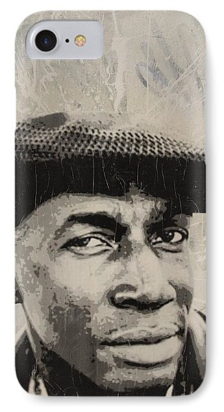 Grand Master Flash Phone Case by Dustin Spagnola