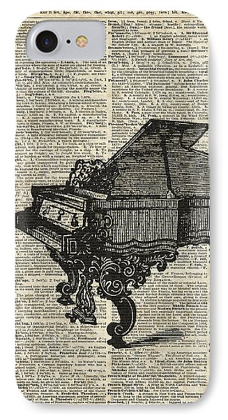 Grand Piano IPhone Case by Jacob Kuch