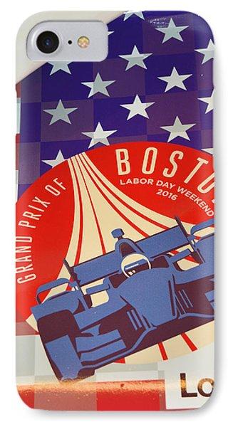 Grand Prix Of Boston IPhone Case