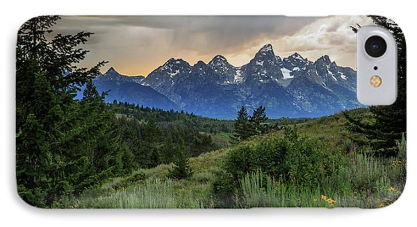 Grand Stormy Sunset IPhone 7 Case by David Chandler
