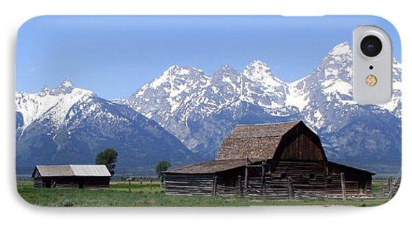 Grand Teton Barn Panarama IPhone Case