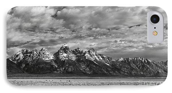 Grand Teton Majesty Phone Case by Sandra Bronstein