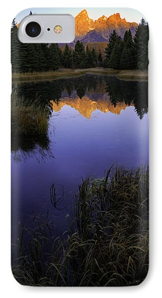 Grand Teton Morning IPhone Case
