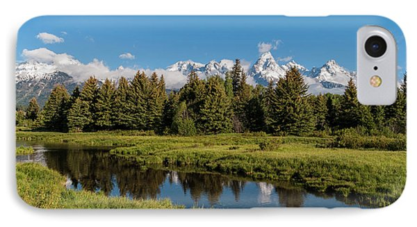 Grand Teton Reflection Phone Case by Brian Harig