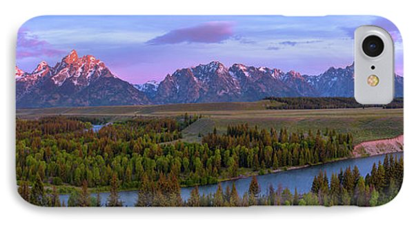 Grand Tetons Phone Case by Chad Dutson