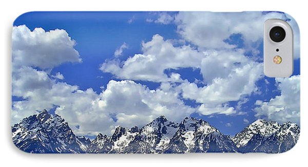 Grand Tetons IPhone Case by Ellen Heaverlo