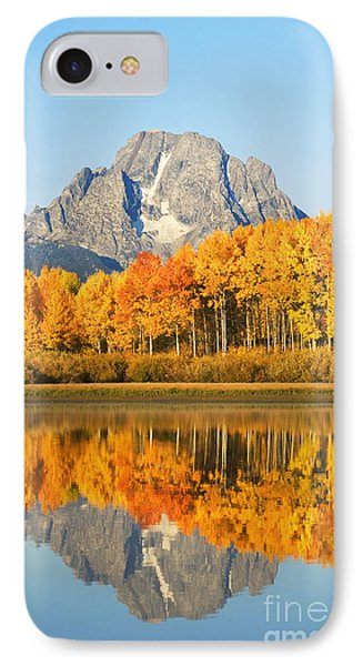 Grand Tetons In Autumn 2 Phone Case by Ron Dahlquist - Printscapes