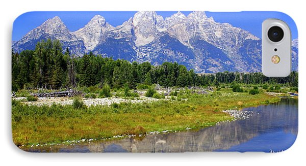 Grand Tetons Phone Case by Marty Koch