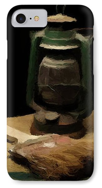 IPhone Case featuring the photograph Granddads Paint Brush  by David Dehner