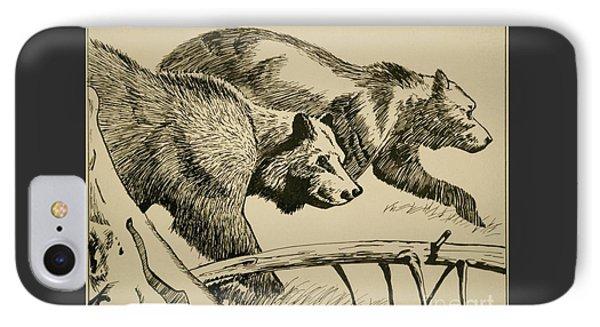 Grandma B's Bears IPhone Case by Linda Simon