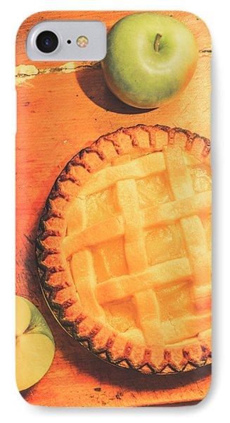 Grandmas Homemade Apple Tart IPhone Case by Jorgo Photography - Wall Art Gallery