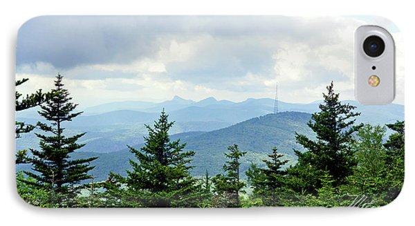 Grandmother Mountain IPhone Case