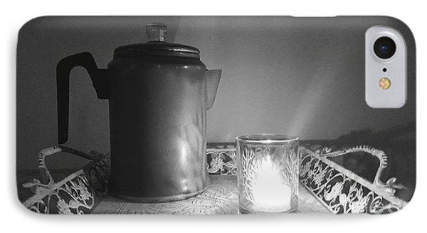 Grandmothers Vintage Coffee Pot IPhone Case