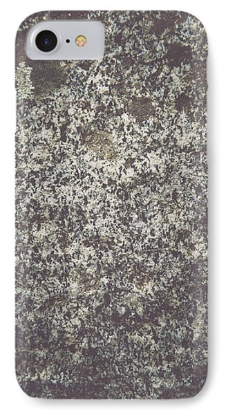 Granite Background IPhone Case by Brandon Bourdages